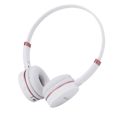 RockPapa Kids Childs Wireless Bluetooth Headphones for iPhone iPad iPod White