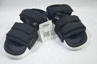 New Adidas Originals Womens ADILETTE SANDAL W S75382 BLACK WHITE US 5 UK 4 SLIDE