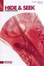 Imogen Heap Hide & Seek SATB Vocal Choral Learn Sing Play Piano Music Book