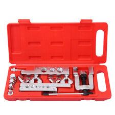 14pc Flaring Tool Kit Brake Gas Water Line Tubing Swaging Automotive Plumbing