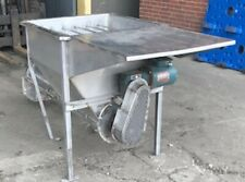 Feed Hopper Complete With Auger,Screw Conveyor On Legs