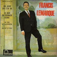 FRANCIS LEMARQUE UN JOUR ON S'EN VA FRENCH ORIG EP JOSS BASELLI