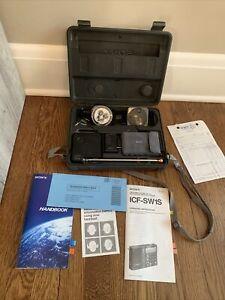 Sony ICF-SW1S Ultracompact Worldband Shortwave Radio Receiver WORKS