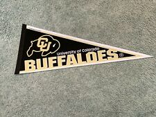 1990s Colorado Buffaloes Football Logo Football Pennant Full Size 29 1/2""