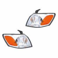 Fits 00-01 Toyota Camry Driver + Passenger Turn Signal Parking Light Lamp 1 Pair