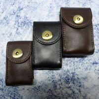 Universal Genuine Leather Car Key Holder Organizers Case Men Hanging On Belt Bag