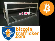 Mining rig case made from steel for 8 GPU bitcoin criptovalute