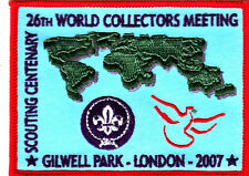 Scout Badge 26th WORLD COLLECTORS MEETING 2007 CENTENARY Gilwell Park
