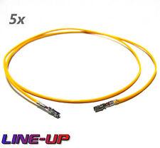 5x Reparaturleitung Pin Einzelleitung Kabel wie 000979010E Audi VW BMW Mercedes
