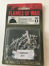 Flames of War Company Hq French Early War Miniatures by Battlefront Fr701