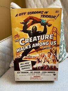 RARE 2003 SIDESHOW TOY THE CREATURE WALKS AMONG US BLACK LAGOON MONSTER FIGURE