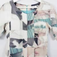 [ LISA HO ] Womens Silk Print Dress    Size AU 6