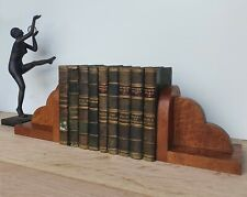More details for pair of cloud form art deco bookends