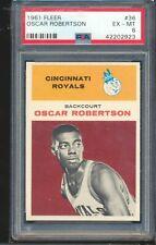 1961 Fleer #61 Oscar Robertson RC Rookie PSA 6 EX-MT UNDERGRADED SHARP CORNERS