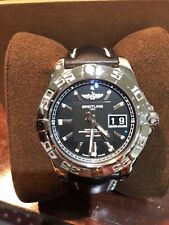 Breitling Galactic 41 A49350L2BAO7 41MM Polished Stainless 100% Authentic