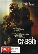 CRASH (Sandra BULLOCK Don CHEADLE Matt DILLON Thandie NEWTON) THRILLER DVD Reg 4