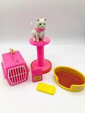 Vintage 1982 Barbie Fluff Cat Cuddly Kitten