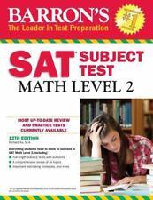 Barron's SAT Subject Test: Math Level 2, 12th Edition, Ku M.A., Richard