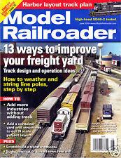 US Model Railroader Magazine June 2010 - FAIR-GOOD Condition