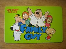WAL* MART Family Guy Collectible Gift Card