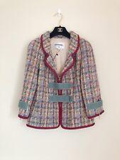 17P Chanel Multicolor Fantasy Tweed Jacket Blazer 36