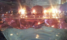 Wunderbare 4 x Gelkerzen Lila Rosa Violett Schmetterling Schwimmkerzen = Set Box