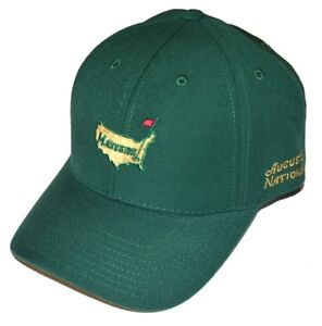 2021 MASTERS 1934 Collection (GREEN) WOOL STRUCTURED Golf HAT from AUGUSTA