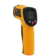 Sin contacto Infrarrojo IR Pistola Láser Termómetro de prueba de temperatura precisa fácil