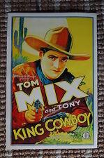 KING COWBOY Lobby Card Movie Poster Western Tom Mix & Tony the wonder horse