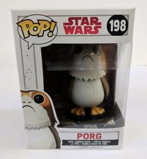 Funko Pop! Star Wars the Last Jedi Porg #198 Vinyl Bobble Non Chase - MIB