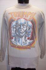 TRIUMPH World Tour 7 Large L VINTAGE 1984 Thunder Seven T shirt