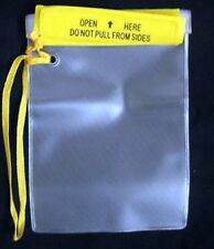 Small Lightweight Waterproof Pouch to keep dry Keys Camera Phone water proof
