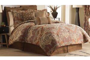 "NWT Croscill Salida 3 Piece Set -2 Euros & 1 Decorative 16"" x 16"" Pillow New"