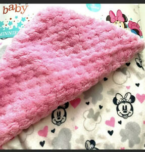 Disney Baby blanket plush Minnie Mouse NEW