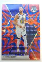 Stephen Curry USA 2019-20 Mosaic Reactive Blue Prizm Refractor #260