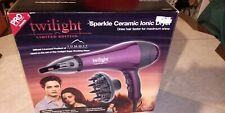 Twilight Limited Edition Sparkle Ceramic Hairdryer