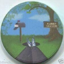 (1) 10 gm 39 mm ceramic RABBIT SEASON poker chip BUGS BUNNY