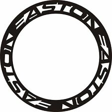 EASTON type wheel rim decals stickers for carbon wheels bike bicycle 700C 2 rims