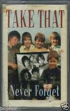TAKE THAT - NEVER FORGET / BACK FOR GOOD (LIVE) 1995 UK CASSINGLE RCA