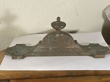 Victorian Fire Fender 19c Antique William Tonks & Sons Fireplace Fire Iron Tidy