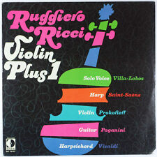 Ruggiero Ricci Violin Plus 1 / Vivaldi, Saint-Saens, Villa Lobos etc. / Listen!