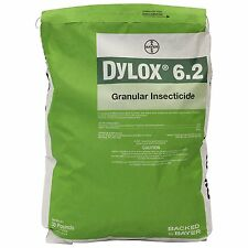 Dylox 6.2 Granules - 30lb bag Curative Grub Control Chinch Bugs (Rescue Lawn)