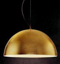 Sospensione moderna 1 luce in metallo foglia oro coll. GD 0143-1SG
