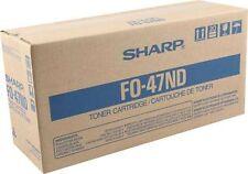Sharp GENUINE/ORIGINAL FO-47ND Black Printer/Copier Toner Cartridge Unit F0-47ND