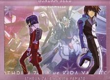 Gundam Seed Kira and Athrun w/ Gundams Art Print Poster Anime MINT