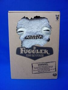 FREE USA SHIPPING! Fuggler White MUNCH MUNCH Funny Ugly Monster Box Certificate