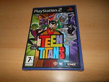 Teen Titans playstation 2 PS2 PS2 DC Comics Nuevo Empaquetado PAL