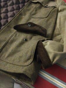 Perfecto BRAND RARE Schott NYC WAXED Wool Tweed Jacket MED P-762