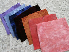 "Vintage Teddy Bear Making Fabric 9x9"" Squares Lot"