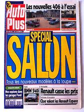 AUTO PLUS du 01/10/1996; Spécial Salon/ BMW 540i/ essai 406/ Espions garage Ford
